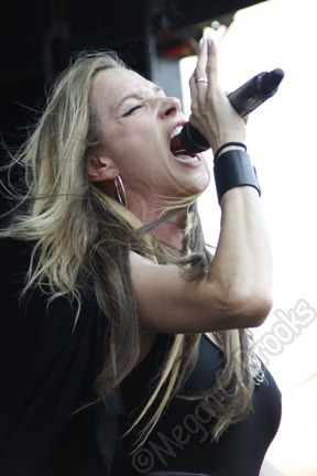 Huntress - July 19, 2013 - Rockstar Mayhem Festival - Susquehanna Bank Center - copyright Megan C. Brooks