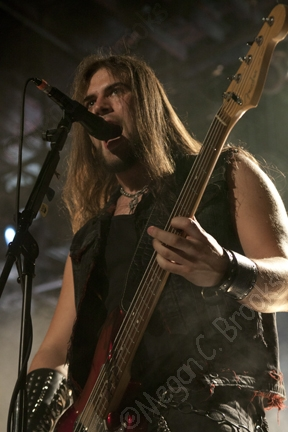 Iced Earth - April 17, 2014 - The Trocadero - Philadelphia PA - copyright Megan C. Brooks