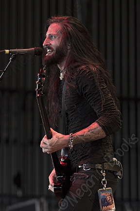 Pop Evil - August 26, 2014 - Rockstar Uproar Festival - Susquehanna Bank Center - copyright Megan C. Brooks