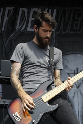 The Devil Wears Prada - July 27, 2012 - Mayhem Festival - Susquehanna Bank Center - Camden NJ